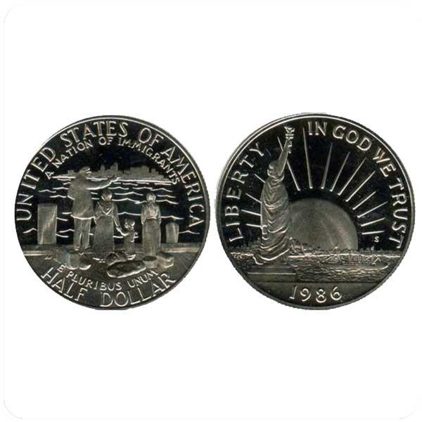 50 центов 1986 Эмигранты код 20664