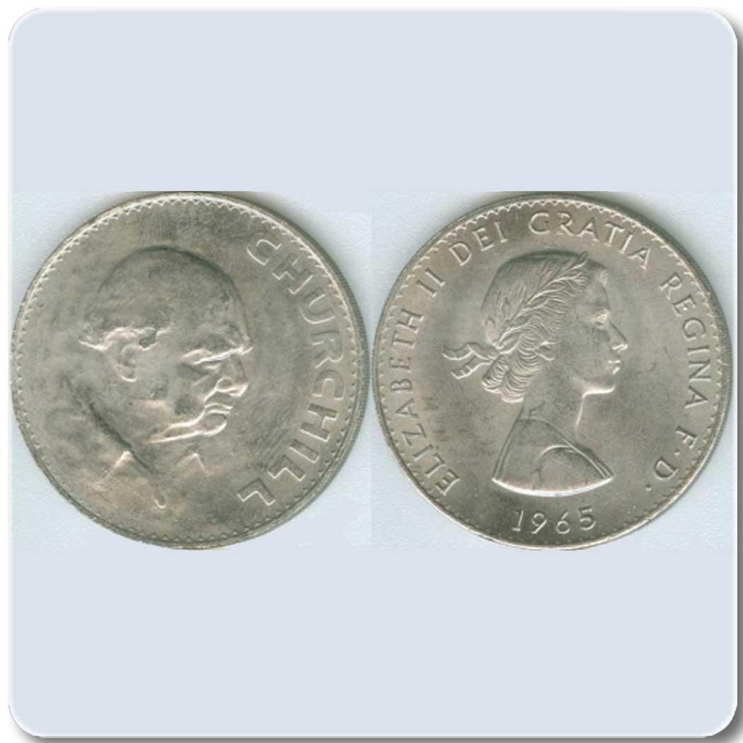 Великобритания 1 Крона 1965 - Черчиль