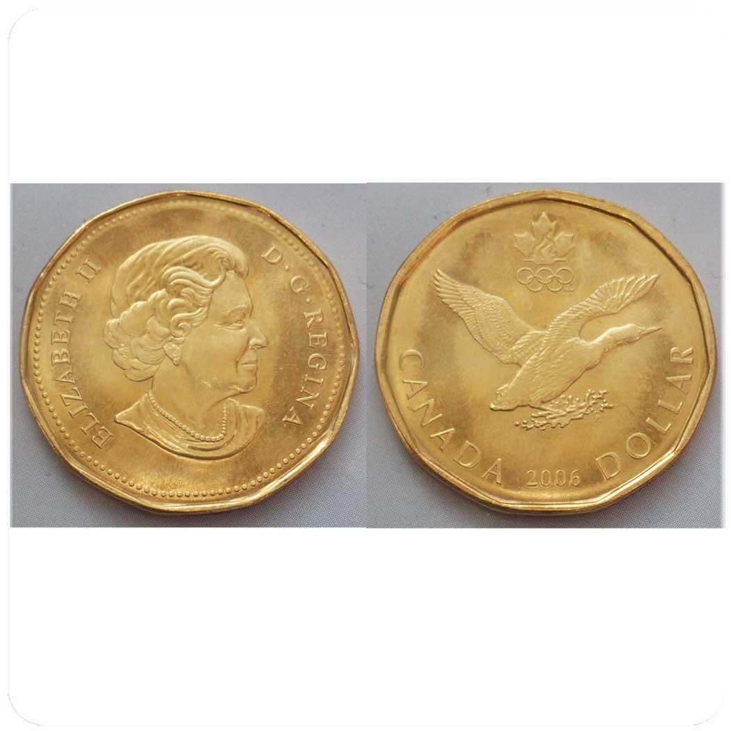 Канада 1 доллар 2006 г