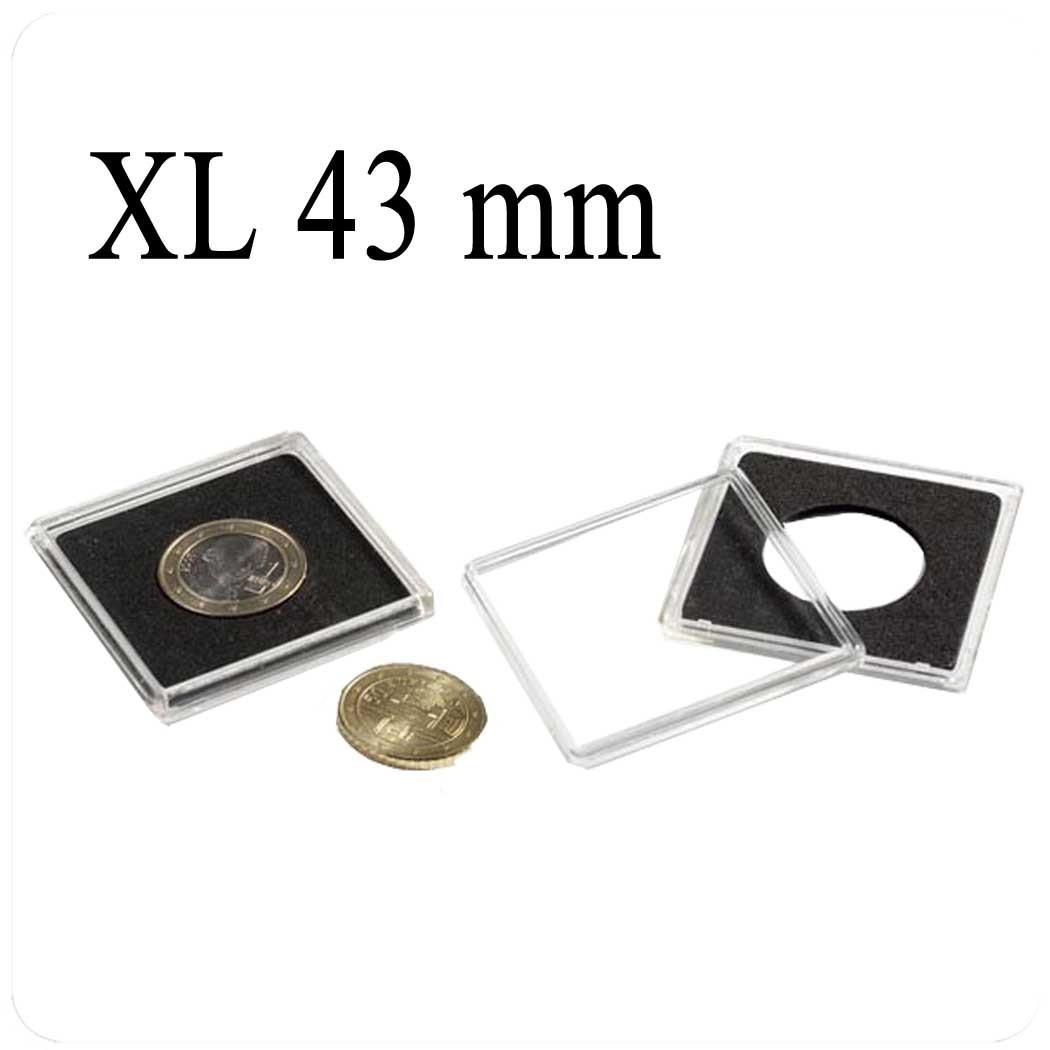 Квадратные капсулы Quuadrum (Квадрум) XL43 мм