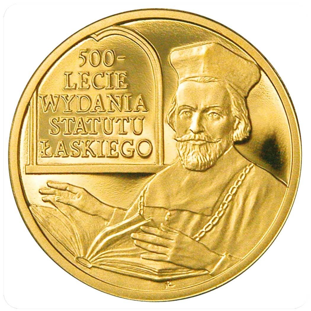 """Польша 2 злотых 2006 года """"500-летие статута Лаского"""""""