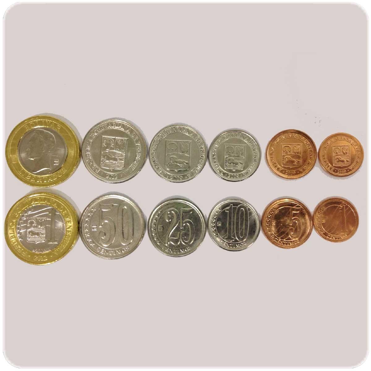 Венесуэла Набор из 6 монет код20719
