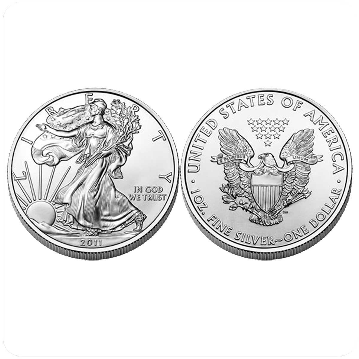 1 доллар 2011 года