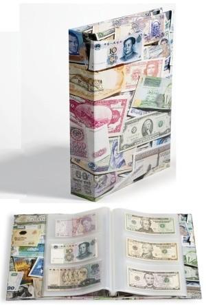 Альбом VARIOALBLBN на 300 банкнот, Leuchtturm. Формат ВАРИО