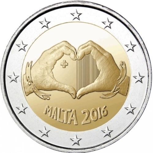 Мальта 2 евро 2016 года Любовь код 21339