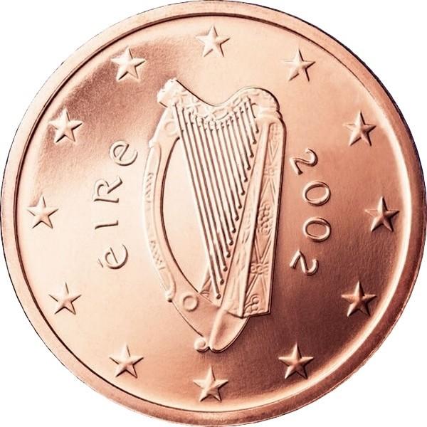 Ирландия 1 евроцент период: с 2002 года код 21512