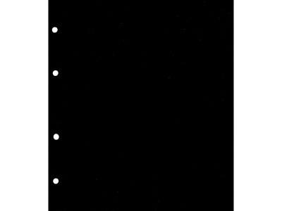Лист промежуточный, черный. Формат НУМИС