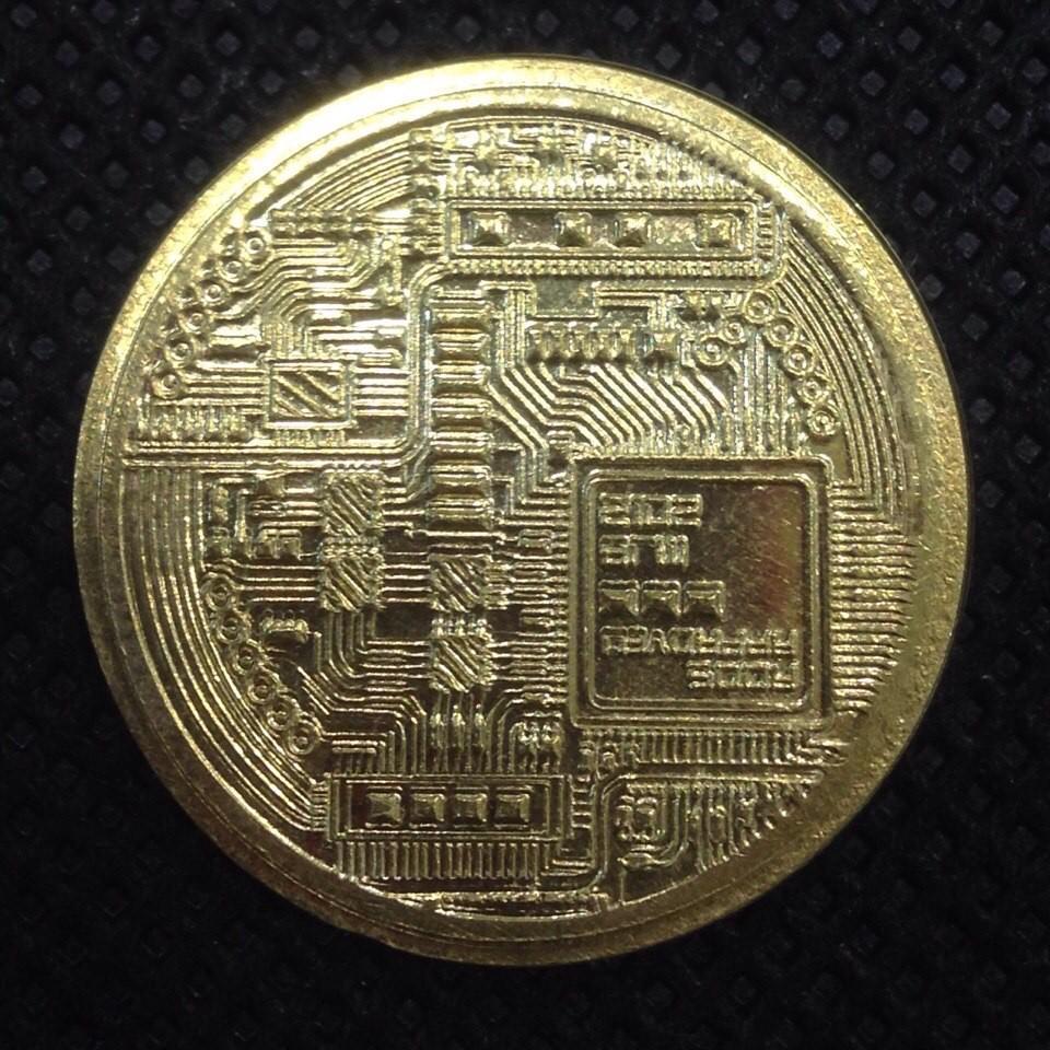 Россия жетон 1 биткоин желтый код 22135