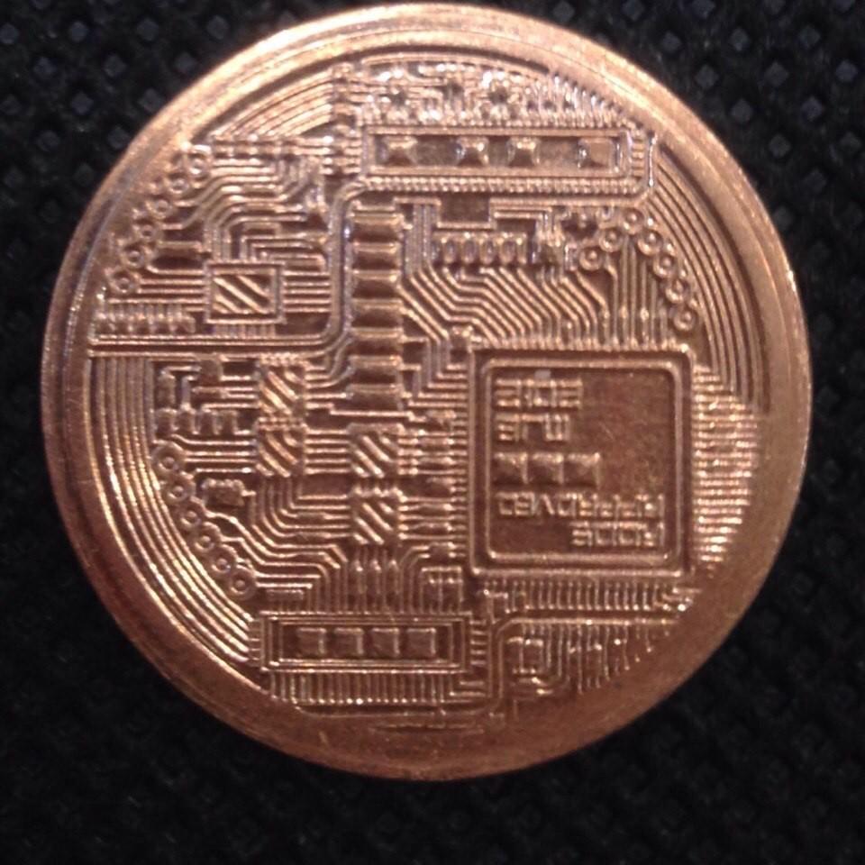 Россия жетон 1 биткоин медный код 22135