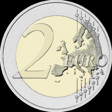 Эстония 2 евро 2018 года 100 лет независимости код 22133