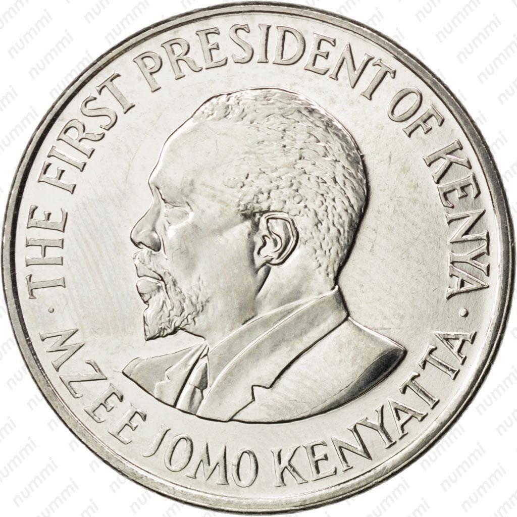 Кения 1 шиллинг периода 2005–2010 годов код 22319