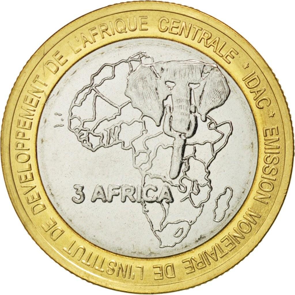 Камерун 4500 франков 2005 года Папа Бенедикт код 22320