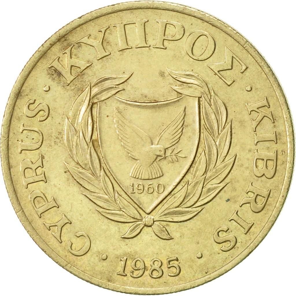 Кипр 20 центов периода 1983–1988 годов код 22339