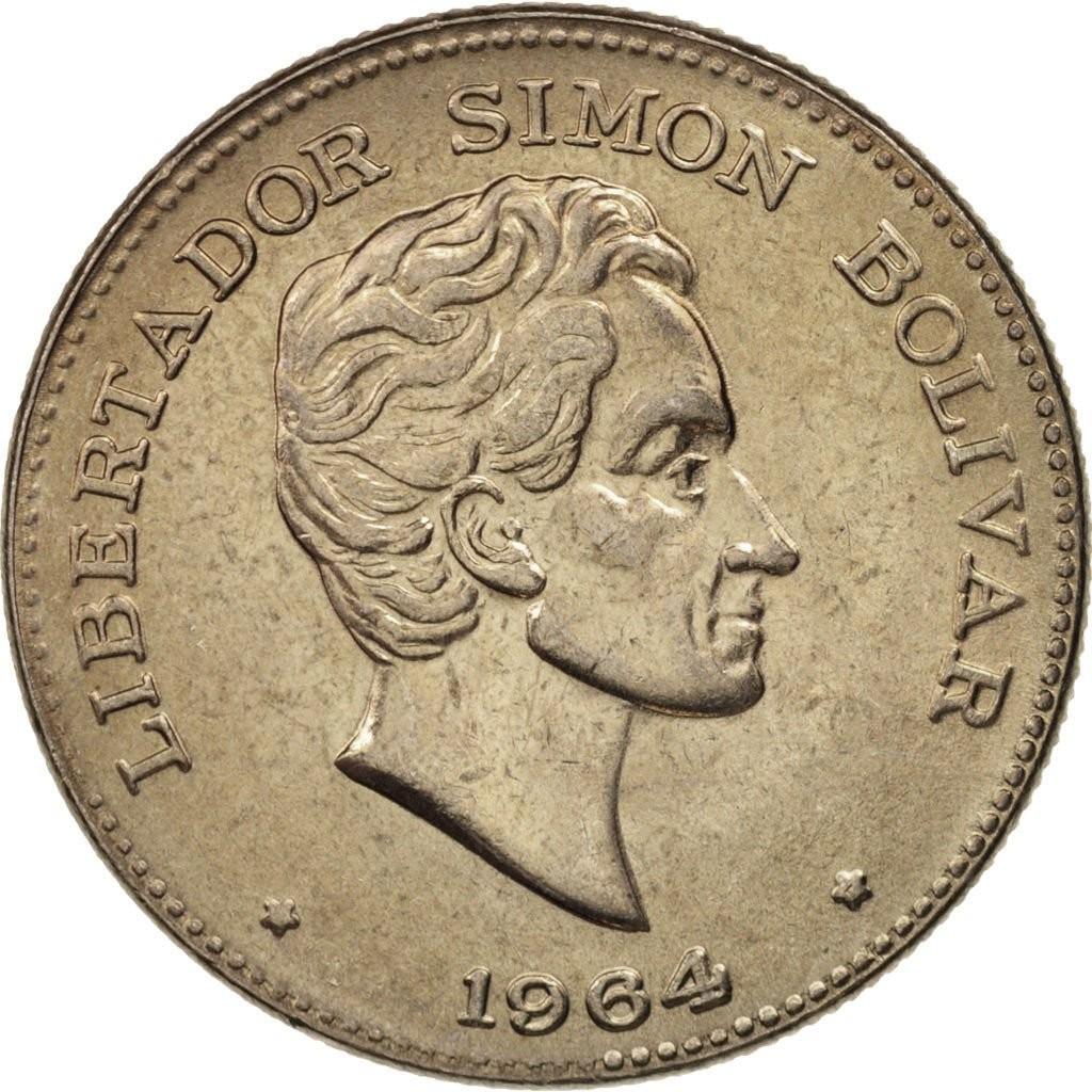 Колумбия 50 сентаво период 1958–1966 годов код 22334