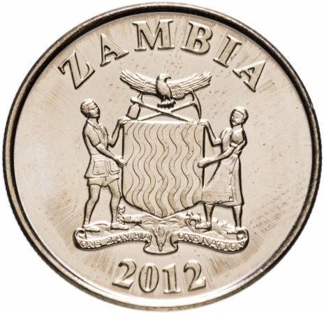 Замбия 50 нгве 2012 года код 22475