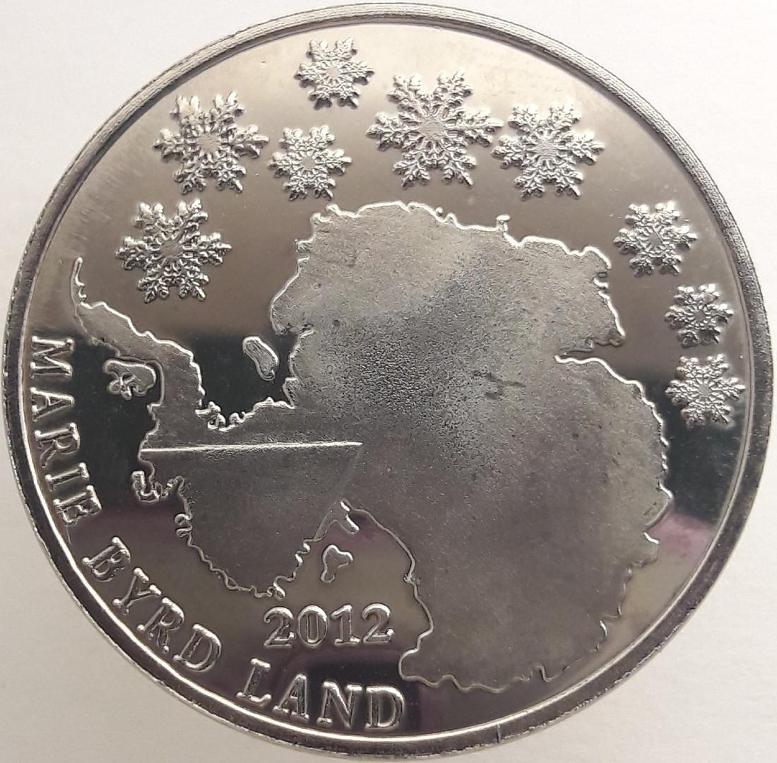 Земля Мэри Бэрд 10 центов 2012 года Альбатрос код 22892
