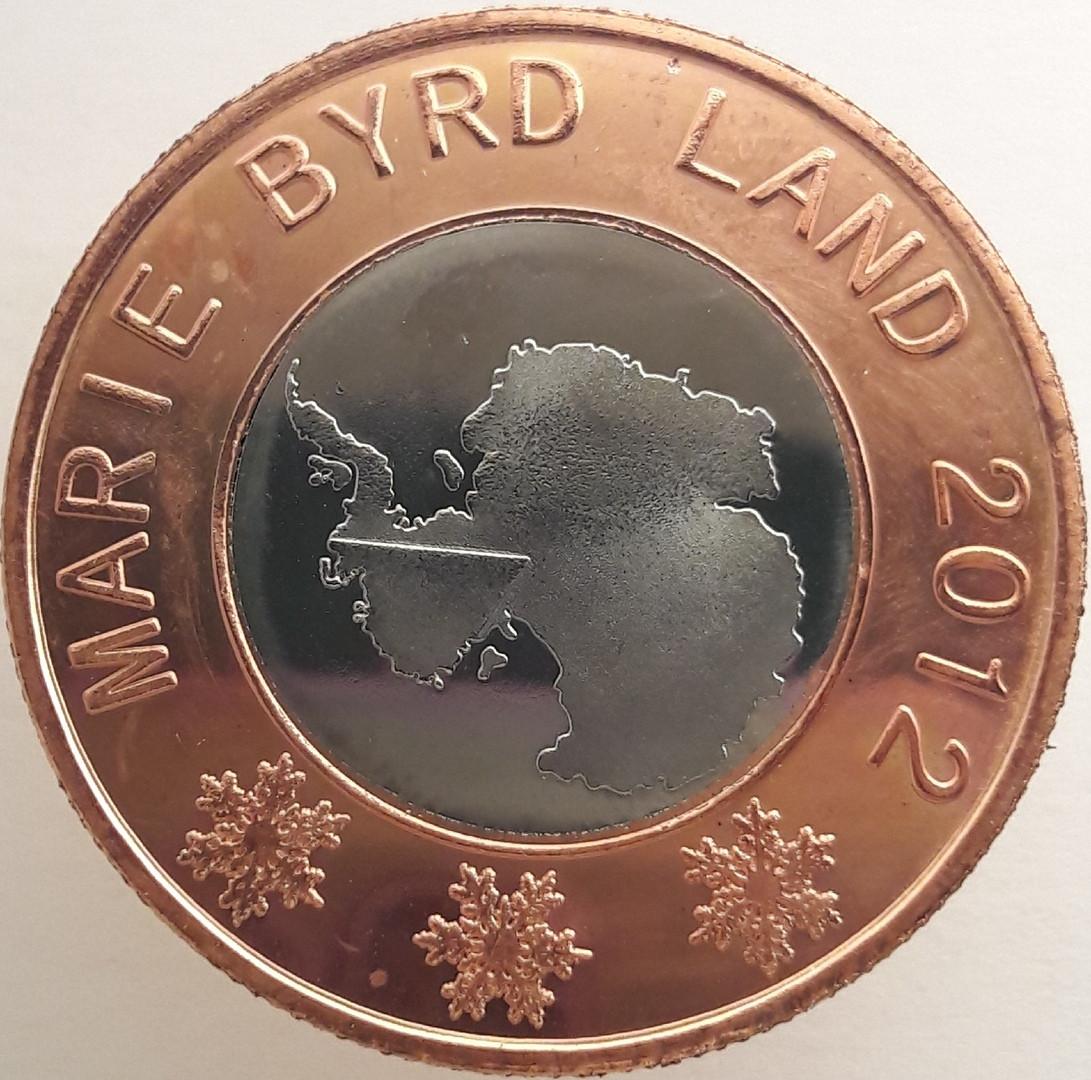 Земля Мэри Бэрд 50 центов 2012 года Кашалот код 22893